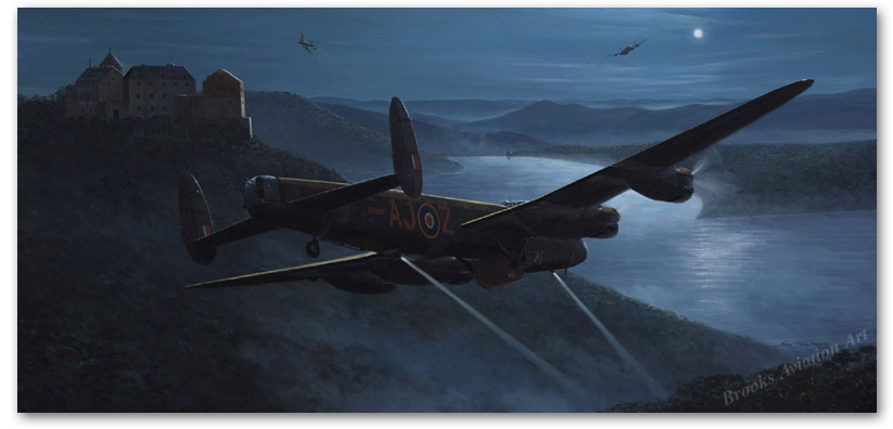 Dambusters - Approaching the Eder Dam
