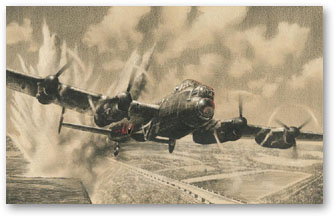 Attacking the Sorpe Dam - by Richard Taylor