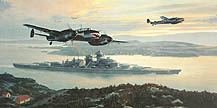 Bismarck Into Battle - by Mark Postlethwaite