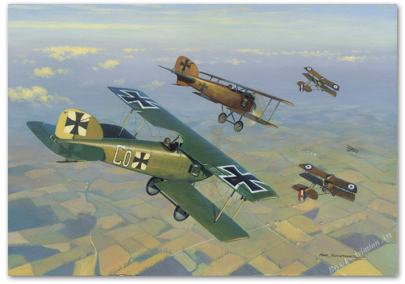 The Death of Hawker VC - by Mark Postlethwaite