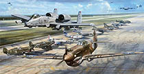 Flying Tiger Legacy - by John Shaw
