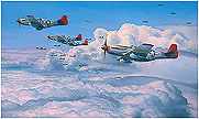 Fighting Red Tails - by Robert Taylor