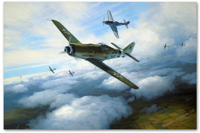 Focke-Wulf 190D - by Mark Postlethwaite