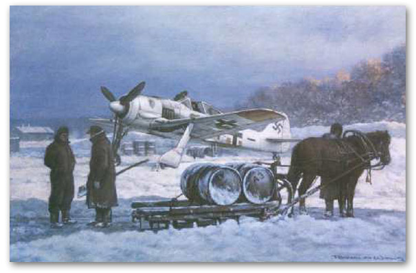 Against General Winter - by Ronald Wong