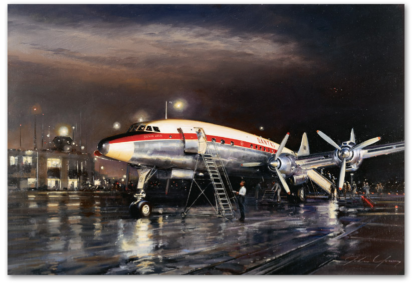 Night Departure - by John Young