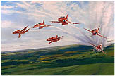 Red Arrows - by Robert Taylor