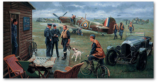 Return to the Bump - Biggin Hill, Summer 1940