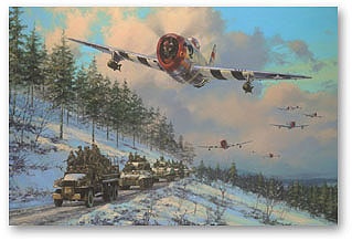 Thunder in the Ardennes - by Anthony Saunders