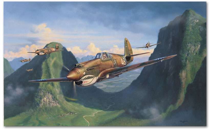 Tiger Pass - by Jim Laurier