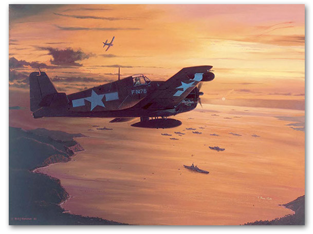 Topaz One at Twilight - by Brian Bateman